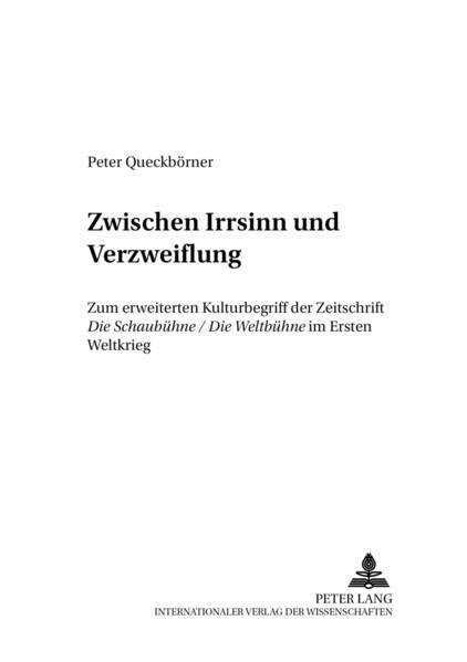 Free Epub «Zwischen Irrsinn und Verzweiflung»