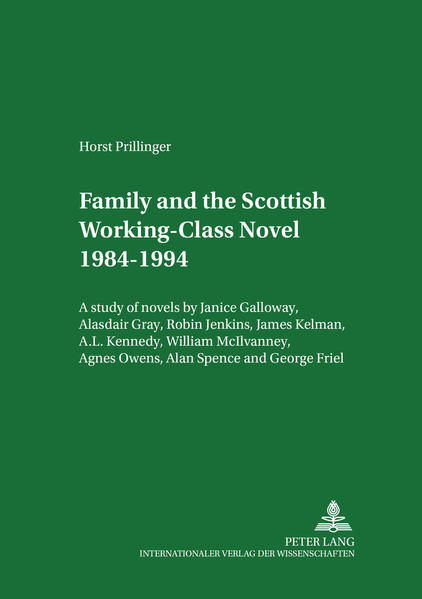 Family and the Scottish Working-Class Novel 1984-1994 - Coverbild