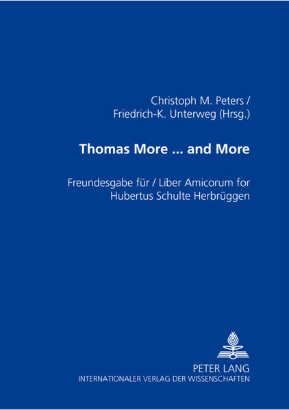Thomas More ... and More - Coverbild