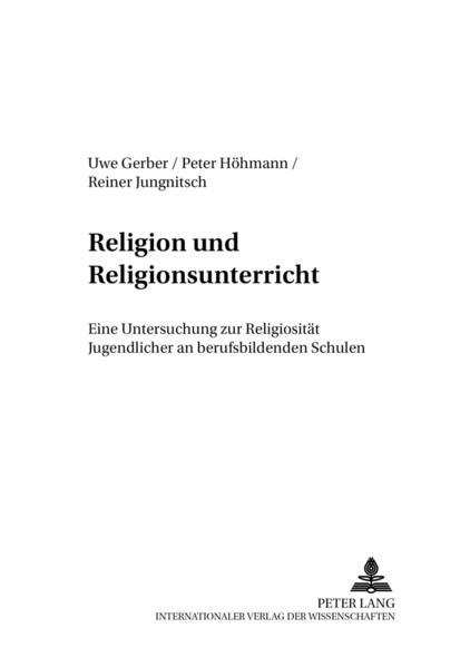 Religion und Religionsunterricht - Coverbild