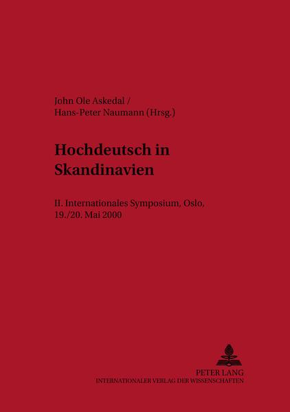 Hochdeutsch in Skandinavien - Coverbild