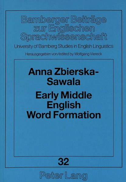 Early Middle English Word Formation - Coverbild
