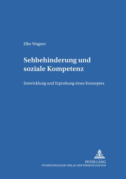 Sehbehinderung und Soziale Kompetenz - Coverbild