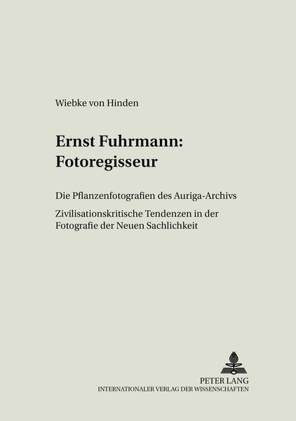 Ernst Fuhrmann: Fotoregisseur - Coverbild
