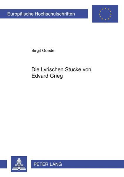 Die Lyrischen Stücke von Edvard Grieg - Coverbild