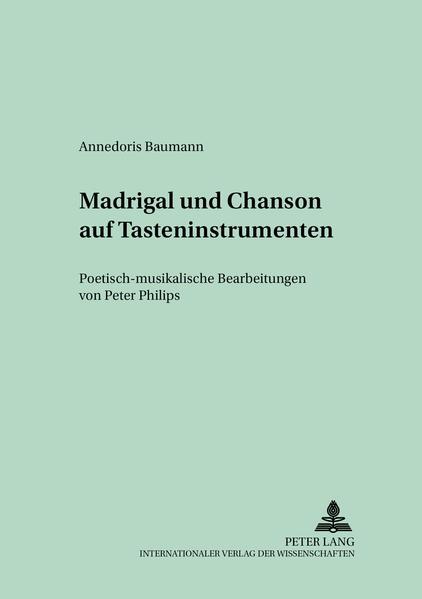 Madrigal und Chanson auf Tasteninstrumenten PDF Kostenloser Download