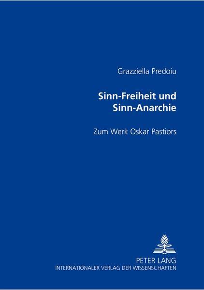 Sinn-Freiheit und Sinn-Anarchie