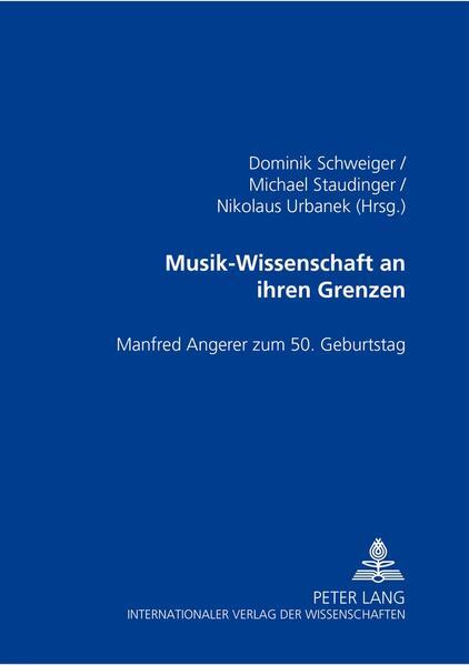 Musik-Wissenschaft an ihren Grenzen - Coverbild