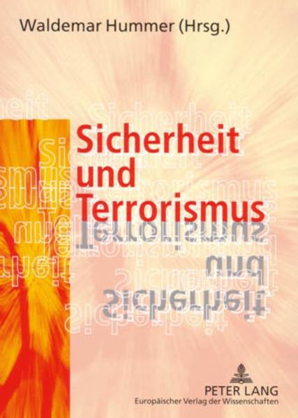 Sicherheit und Terrorismus - Coverbild