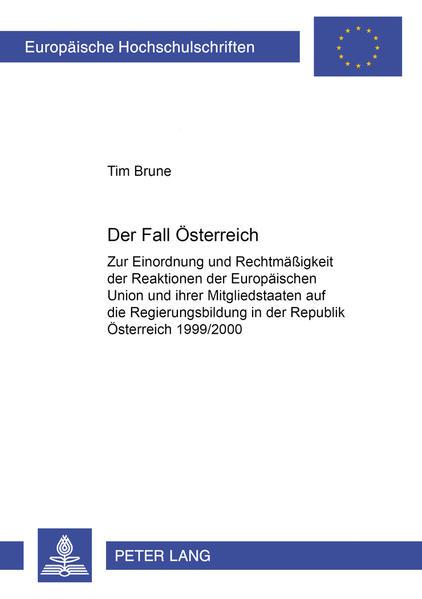 Der Fall Österreich - Coverbild