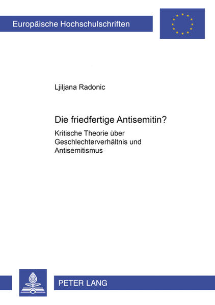 Die friedfertige Antisemitin? - Coverbild