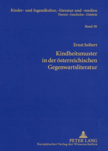 Kindheitsmuster in der österreichischen Gegenwartsliteratur - Coverbild