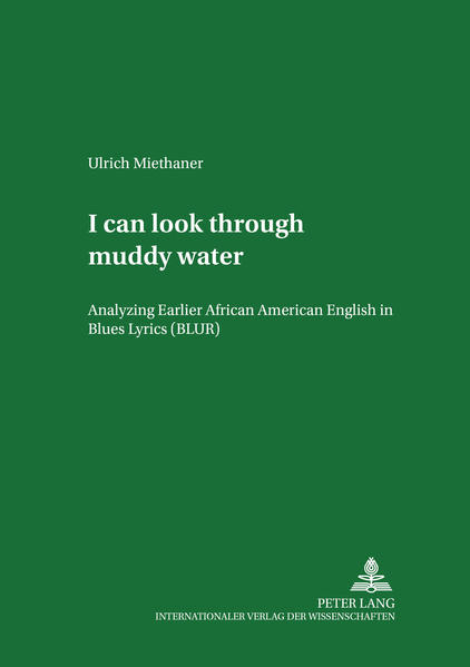 «I can look through muddy water» - Coverbild