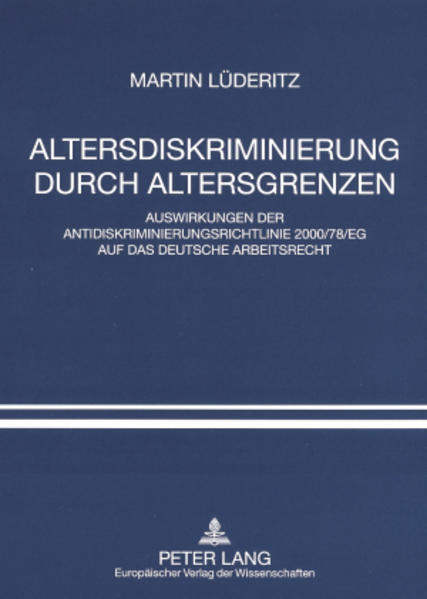 Altersdiskriminierung durch Altersgrenzen - Coverbild