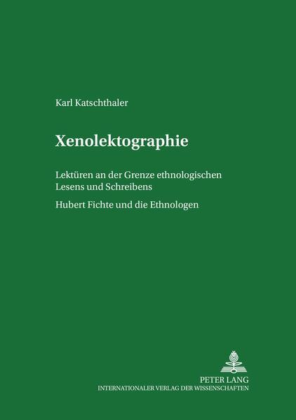 Xenolektographie - Coverbild