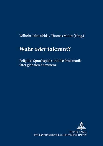Wahr «oder» tolerant? - Coverbild