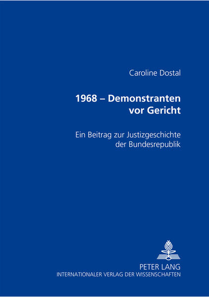 1968 – Demonstranten vor Gericht Epub Kostenloser Download