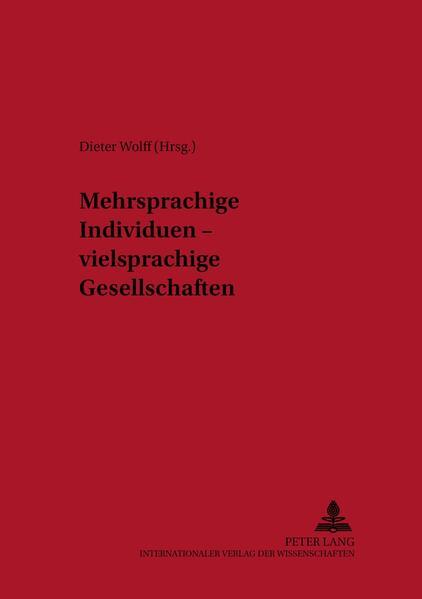 Mehrsprachige Individuen – vielsprachige Gesellschaften - Coverbild
