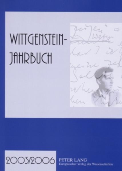 Wittgenstein-Jahrbuch 2003/2006 - Coverbild