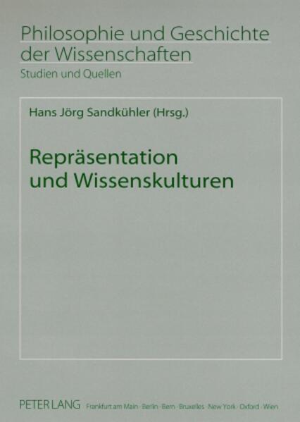 Repräsentation und Wissenskulturen - Coverbild