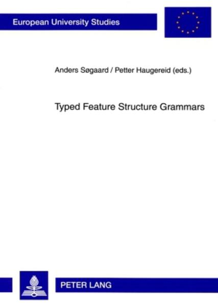 Typed Feature Structure Grammars - Coverbild