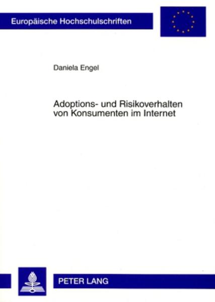 Adoptions- und Risikoverhalten von Konsumenten im Internet - Coverbild