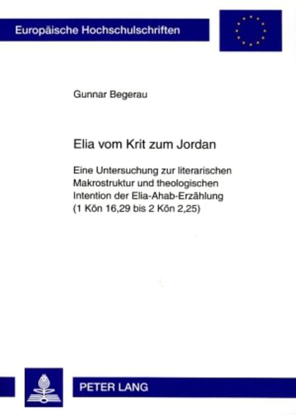 «Elia vom Krit zum Jordan»: EPUB PDF 978-3631583869
