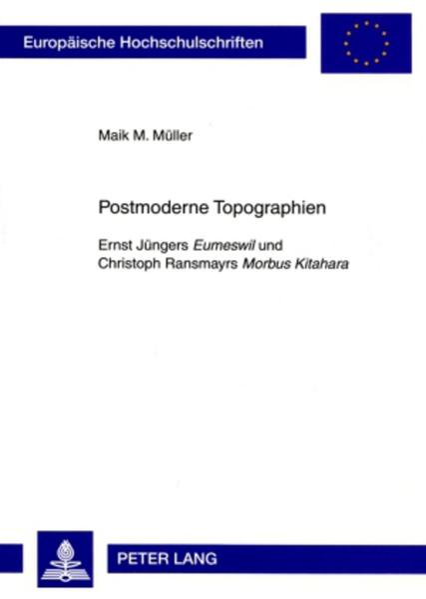 Postmoderne Topographien - Coverbild