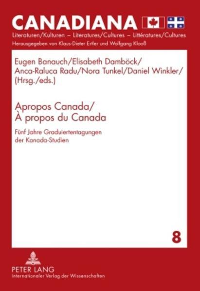 Apropos Canada / À propos du Canada - Coverbild