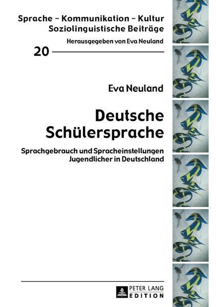 Deutsche Schülersprache - Coverbild