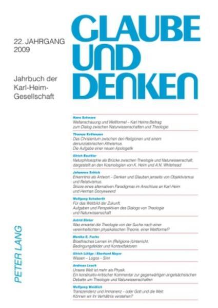 Glaube und Denken - Coverbild