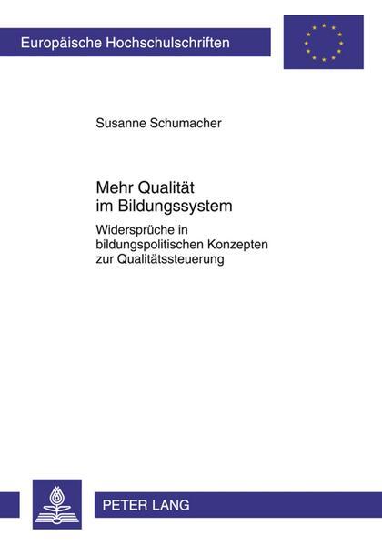 Mehr Qualität im Bildungssystem - Coverbild