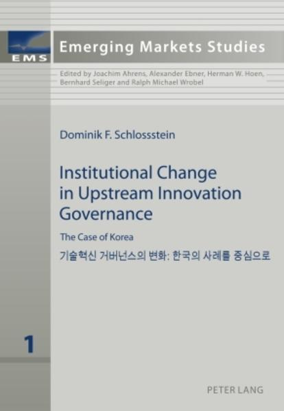 Institutional Change in Upstream Innovation Governance - Coverbild