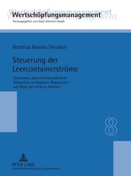 Steuerung der Leercontainerströme - Coverbild
