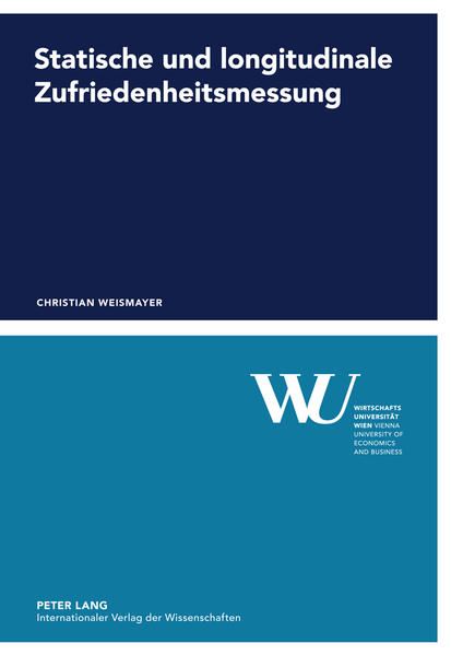 Statische und longitudinale Zufriedenheitsmessung - Coverbild
