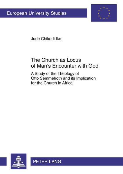 The Church as Locus of Man's Encounter with God - Coverbild