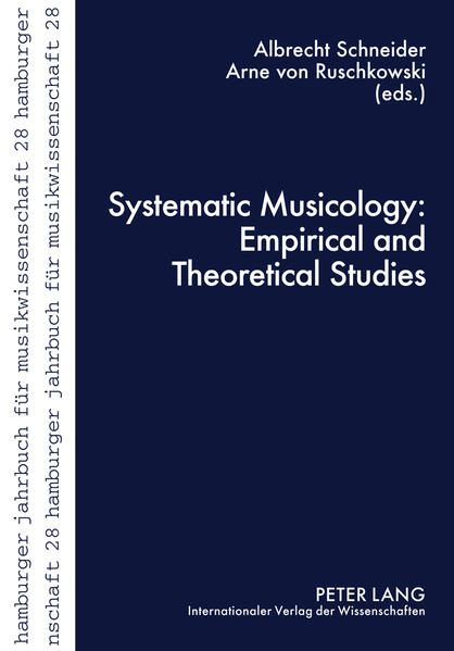 Systematic Musicology: Empirical and Theoretical Studies - Coverbild