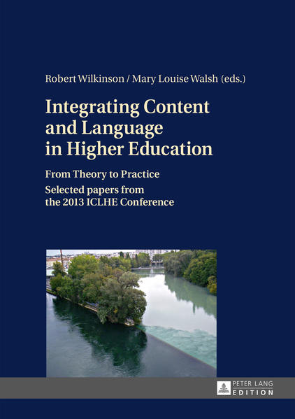 Integrating Content and Language in Higher Education - Coverbild