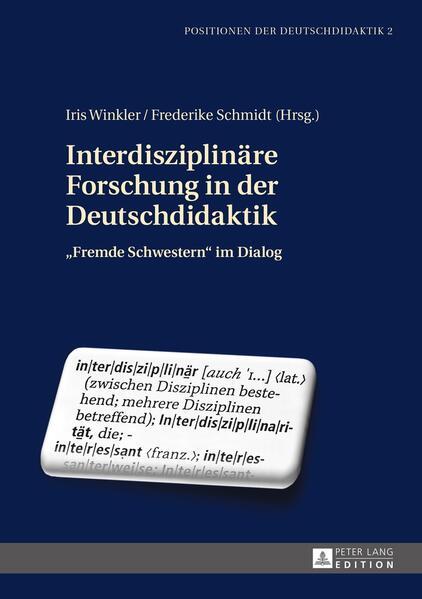 Interdisziplinäre Forschung in der Deutschdidaktik - Coverbild