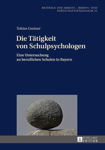 Die Tätigkeit von Schulpsychologen - Coverbild