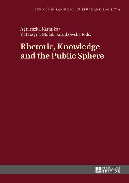 Rhetoric, Knowledge and the Public Sphere - Coverbild