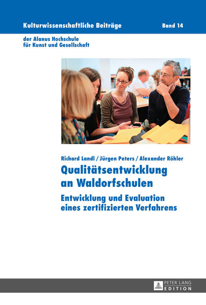 Qualitätsentwicklung an Waldorfschulen - Coverbild