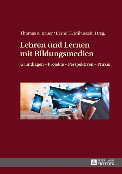 Lehren und Lernen mit Bildungsmedien - Coverbild