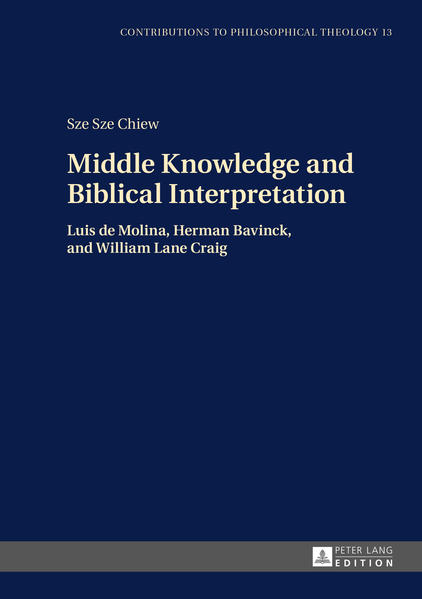 Middle Knowledge and Biblical Interpretation - Coverbild