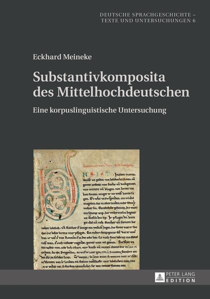Substantivkomposita des Mittelhochdeutschen - Coverbild