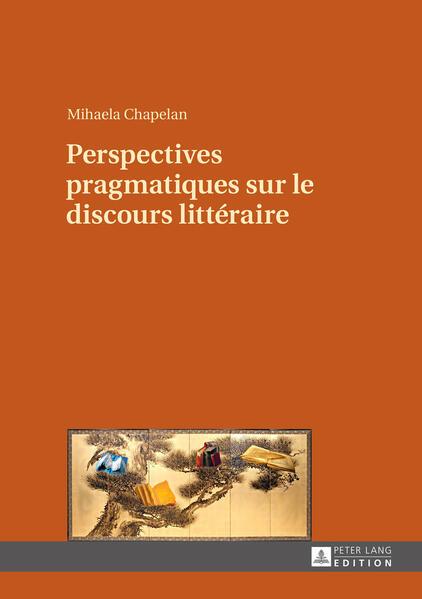 Perspectives pragmatiques sur le discours littéraire - Coverbild