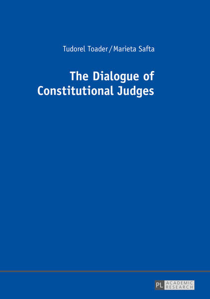 The Dialogue of Constitutional Judges - Coverbild