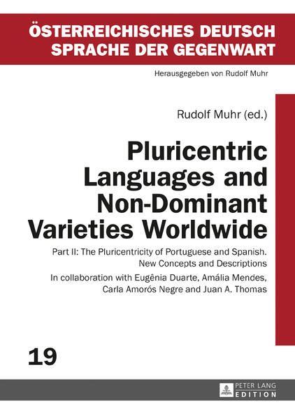 Pluricentric Languages and Non-Dominant Varieties Worldwide - Coverbild