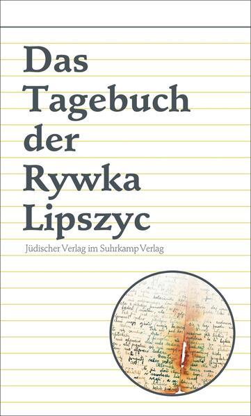 Das Tagebuch der Rywka Lipszyc - Coverbild