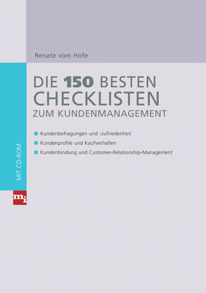 Die 150 besten Checklisten zum Kundenmanagement - Coverbild